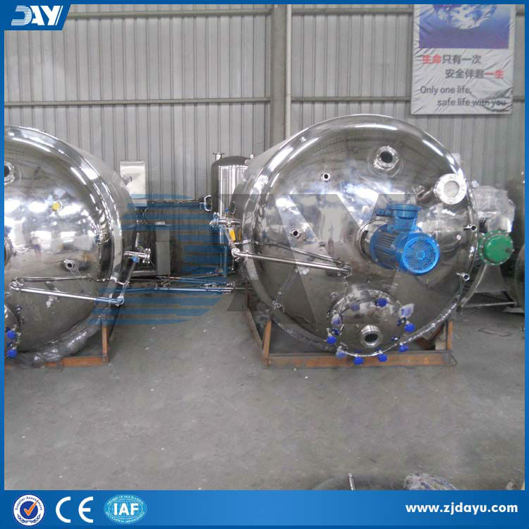 600L chemical mixing compounding tank CE certificate