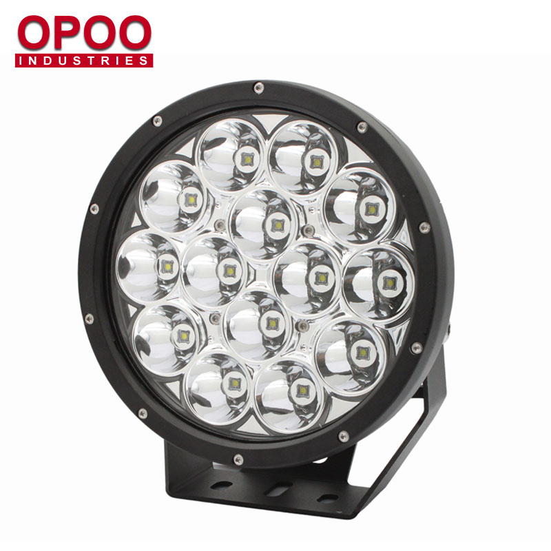 2018 New Auto 12V 24V IP68 Waterproof 140W 9 inches Round Spot 4x4 Led Lights