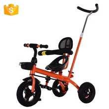 China cheap big kids pedal folding tricycle price children ride on baby plastic toy pedal car