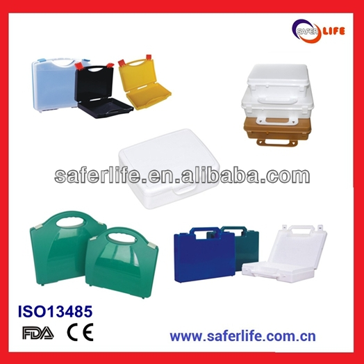 2015 medical hospital empty Pp Pp Clear Plastic tool box Clear Plastic Storage tool Waterproof Tool Box