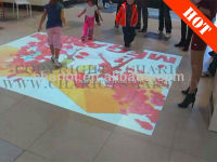Magic interactive floor display/interactive floor projection for entertainment