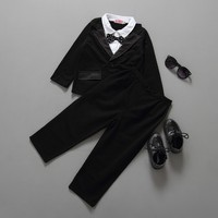 Hot Sale Kids Boys Clothing Sets Toddler Boy Clothes Sets Wedding Clothes birthday Baby Boys Sets