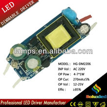 HG-DM2206 LED DIMMER driver lamps driver 4-7*1W