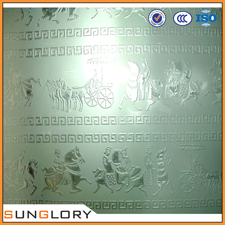 parapets etched glass