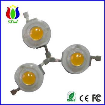 1w 3w led diode for Christmas tree shanghai qinwang supply