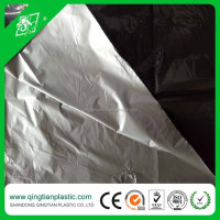 Hot selling black and silver soil mulching film for increasing crop output