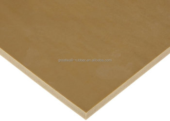 Great Wall New hot selling production! Through ISO 9001 CERTIFICATION 100% Pure Natural Tan/Pure Gum Rubber Sheet