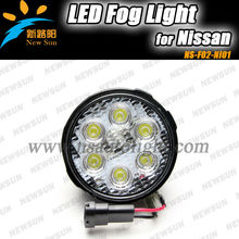 2013 New Car accessories car Front fog lights, Led Daytime Running Lights for N issan TIIDA, X- TRAIL auto fog lamps