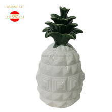 Discount novelty Exquisite money saving box ceramic pineapple coin bank