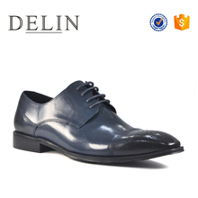 Sell well classic oxfords genuine leather shoes men dress shoes