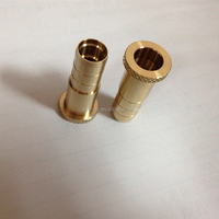 Best selling brass logo customized electronic cigarette wholesale cnc machining parts