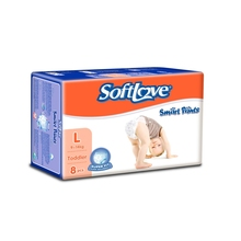 Softlove best selling disposable breathable baby diapers wholesale