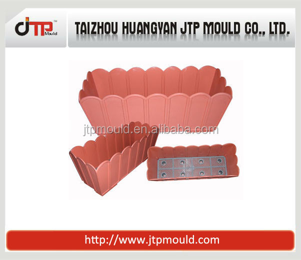 garden rectangular flower pot mould