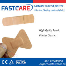 CE fabric plaster strip/assorted wound plster/fabric bandage strip