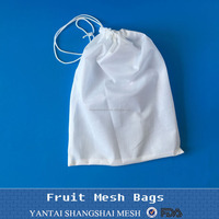soft material Reusable Polyester Produce Bags/fruit bag/vegetable bag