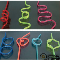5mm diameter 270mm long Crazy straws for sale