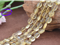 10*11mm diy jewelry accessories beads lustrous, unartificial quartz strand