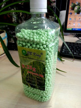 New! Airsoft bottle bio bb 0.25g ,green bio bb, 1kg/bottle