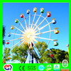 Outdoor amusement park rides big ferris wheel