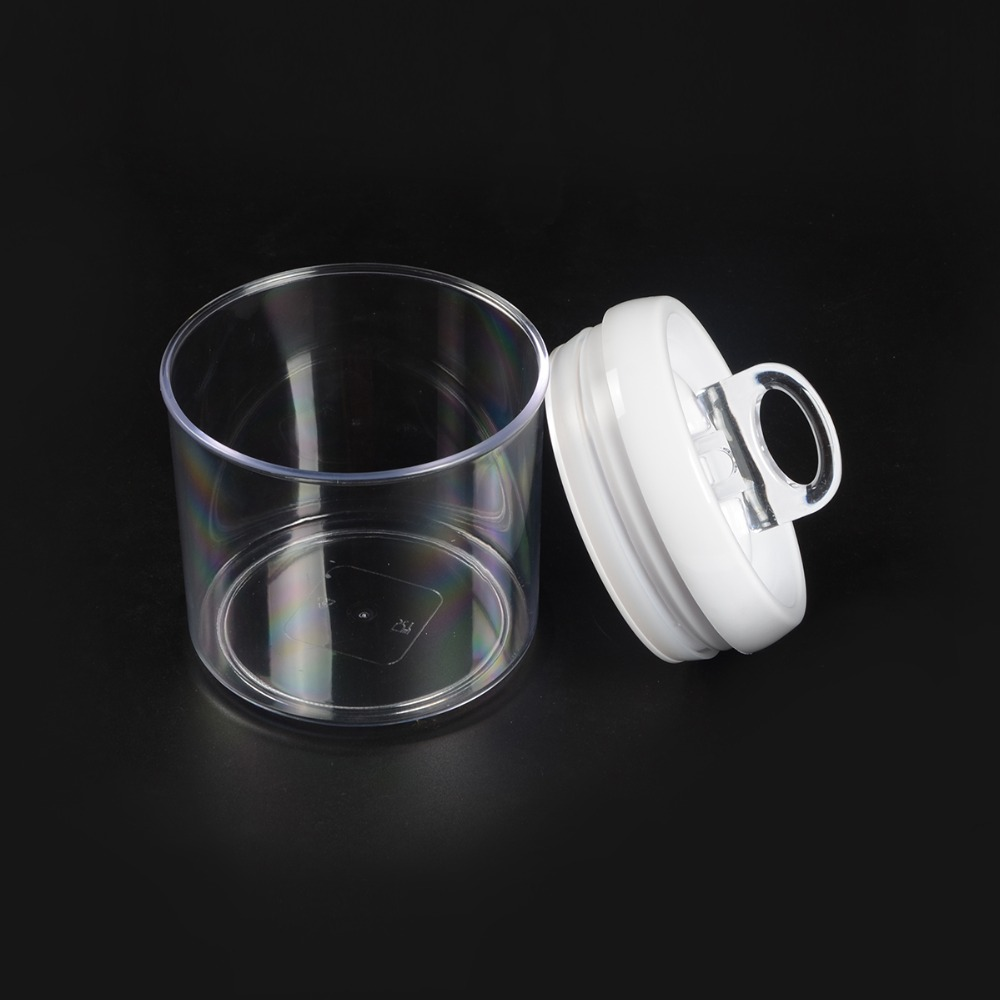 Round Airtight Food Storage Container With Silicon Seal Lids