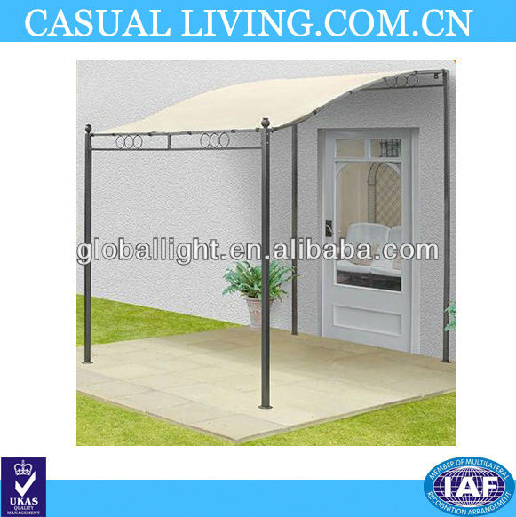 HARROGATE METAL WALL MOUNTED GAZEBO CANOPY AWNING GARDEN SHADE SHELTER PATIO