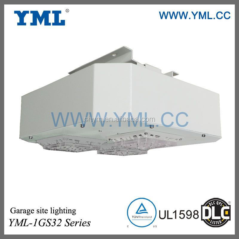 DLC certified, High efficiency, 120W LED gas station lighting
