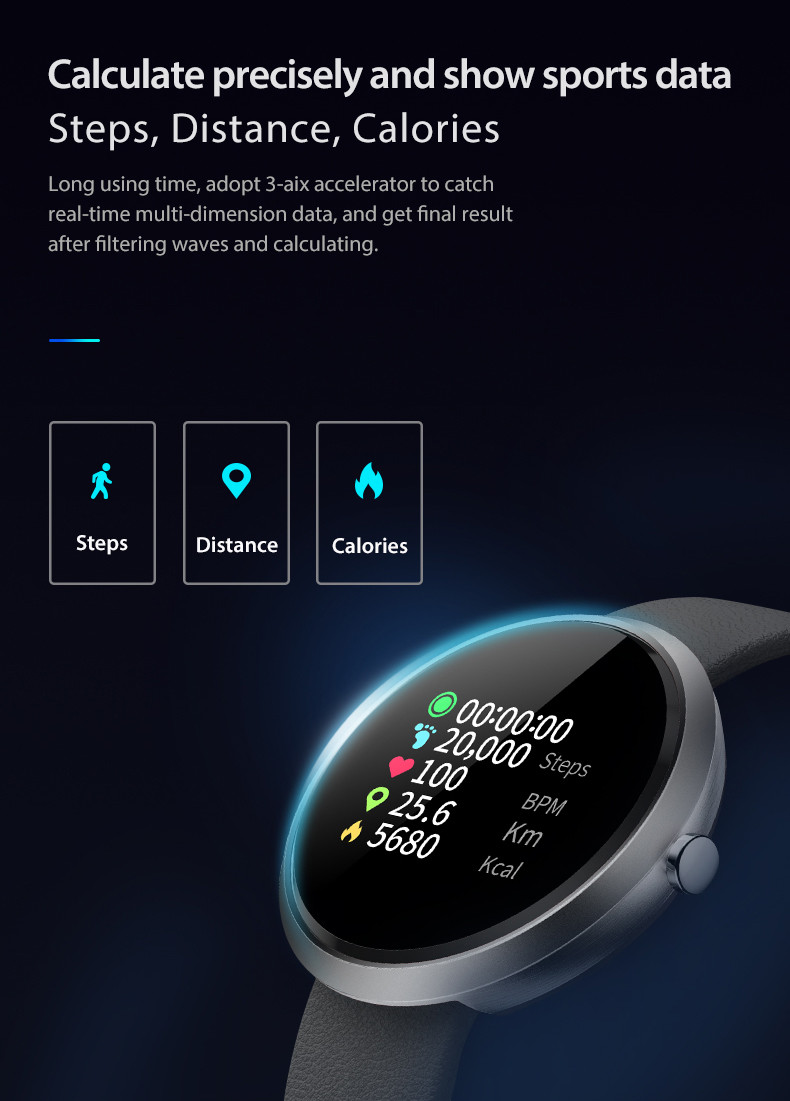 IP67 V06C smart watch band fitness tracker blood pressure wristband milanese strap business sports bracelet