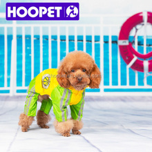 Hoopet New Water-Resistant Dog Clothing Doggie Raincoats
