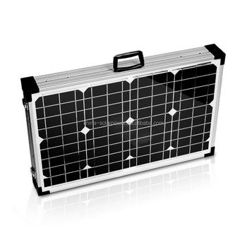 china factory direct sell 60W 80W 100W 120W 12V folding foldable solar cell solar panel