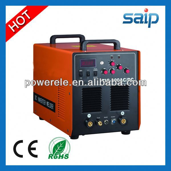 2013 Hot Sale Mosfet Inverter Multi-function AC/DC Pulse TIG/MMA/CUT electro forge steel grating welding machine