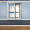 Latest design good quality vinyl glass sliding windows