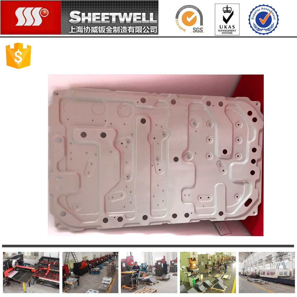 stamping large spray CRS plate mechanical parts fabrication metal forming