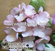 Cake decoration gumpaste flower Hydragea open