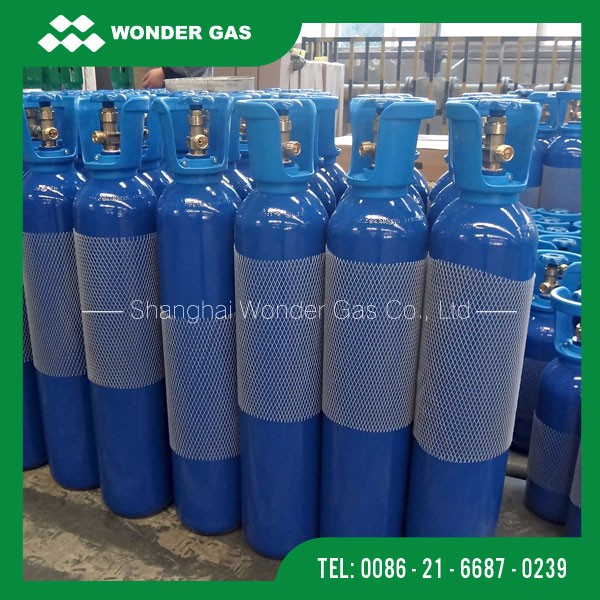 2m3 Good Quality 10L Small Portable Oxygen Gas Cylinder