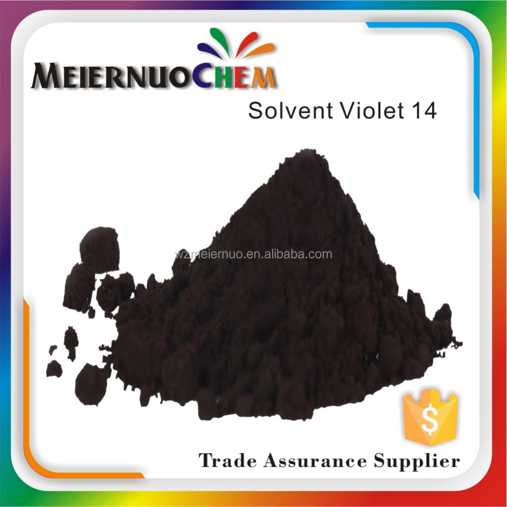 metallic oil soluble dyes solvent violet 14 plastic dyes