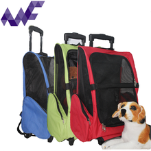 Oxford Pet Carrier Bag Cat Rolling Backpack Airline Approved With 5 Colour Choices
