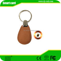 promotion cheap blank custom leather printing key fob