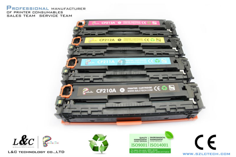 Compatible CF210 Toner for HP LaserJet Pro <strong>200</strong> / M251/267