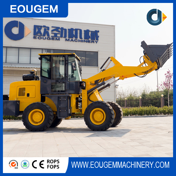 wheel loader 2.8 tons ZL28 2 years guarantee lowest price hot sale in 2017