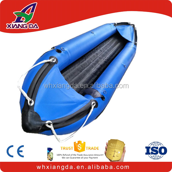 Factory direct sports fishing inflatable rubber kayak
