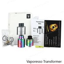 Wholesale 2016 New Products Rainbow DIY Coils Vaporesso Transformer Atomizer