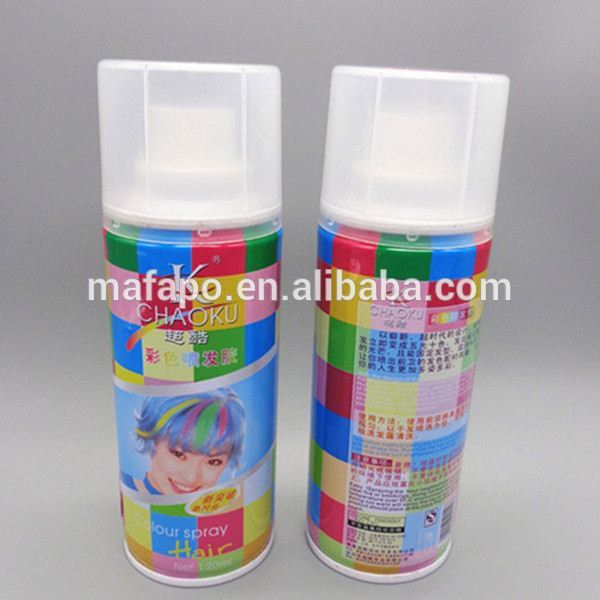 One Wash Dyes for hair spray 13 colours Color Glitters