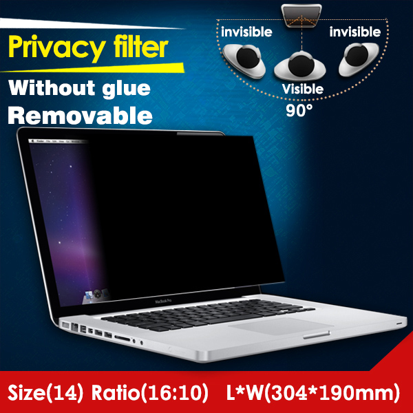 Factory Price Magnetic Anti Spy Privacy Film Laptop Computer Screen Film
