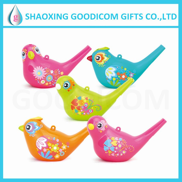 Supplier Promotional Wholesale Custom Bird Water Whistle