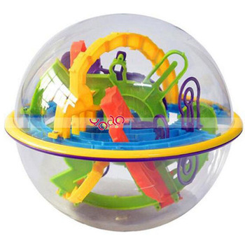 Wholesale 158-Level 3D Magic Maze Ball Intellect Ball Children's Educational Toy 2016