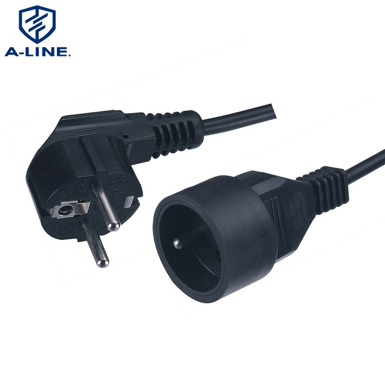 Germany Style Schuko Extension Power Cord