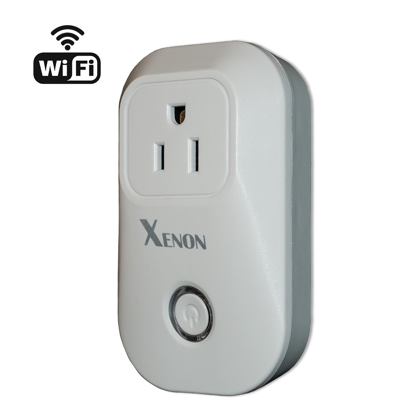 Xenon WiFi Smart Plug Wireless Socket to Remote Control Electrical Power Outlet, Light Switch