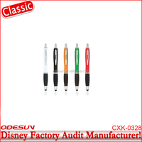 Disney Universal FAMA BSCI Carrefour Factory Audit Manufacturer Selling Promotional Slogan Ball Pen Parts