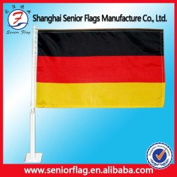 Advertising Usage and Promotional Full Color Printed Car Flag pole(car flag pole) Car Usage and Polyester Flags