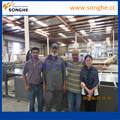 Frp/grp Flat/corrugated /fiberglass Reinforced Plastic Sheet Making Machine by SONGHE